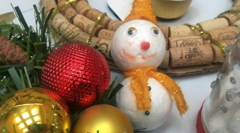 Adornos navideños y Eco-Navidad