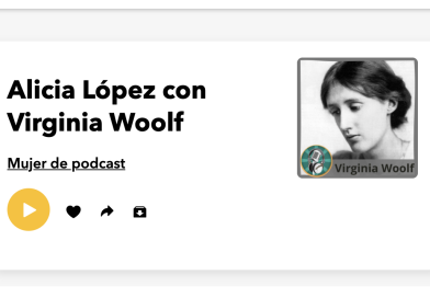 Alicia López y Virginia Wolf